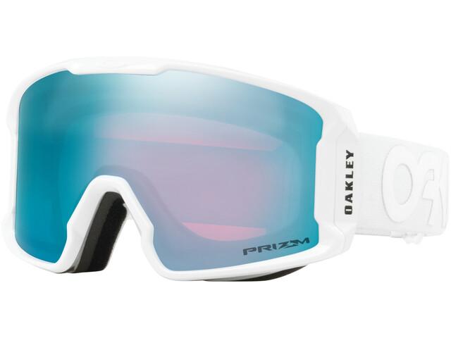 Oakley Line Miner XM - Lunettes de protection - bleu/blanc
